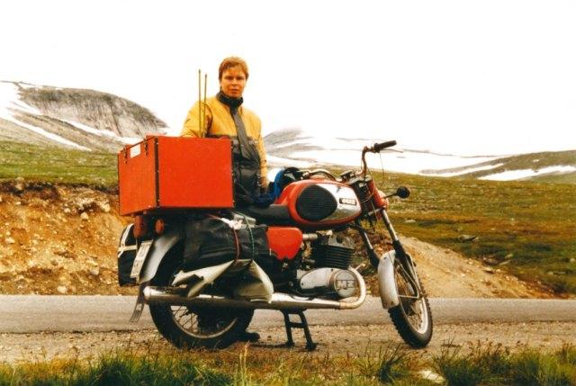 Letim häämatkalla Lofooteille heinäkuussa 1984
