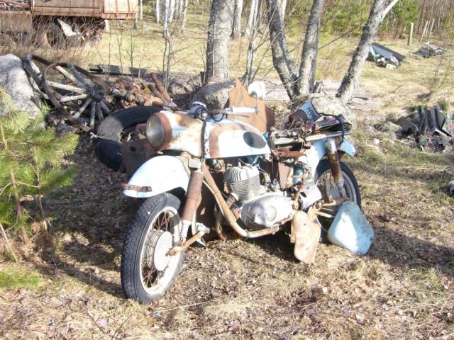 Moottoripyörä MZ